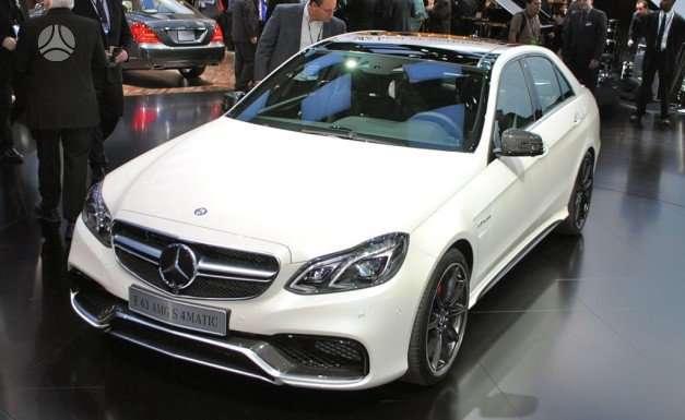 Mercedes-Benz E63 AMG dalimis. !!!! tik naujos originalios dalys