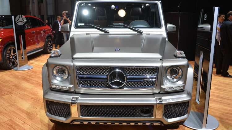 Mercedes-Benz G65 AMG dalimis. !!!! naujos originalios dalys !!!!