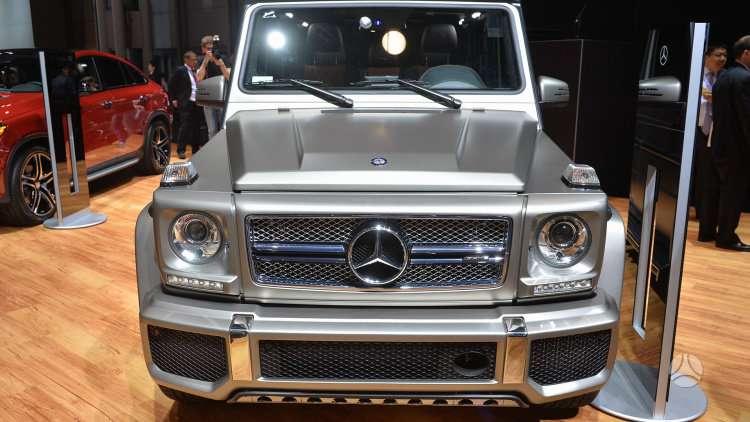 Mercedes-Benz G65 AMG dalimis. !!!! tik naujos originalios dalys