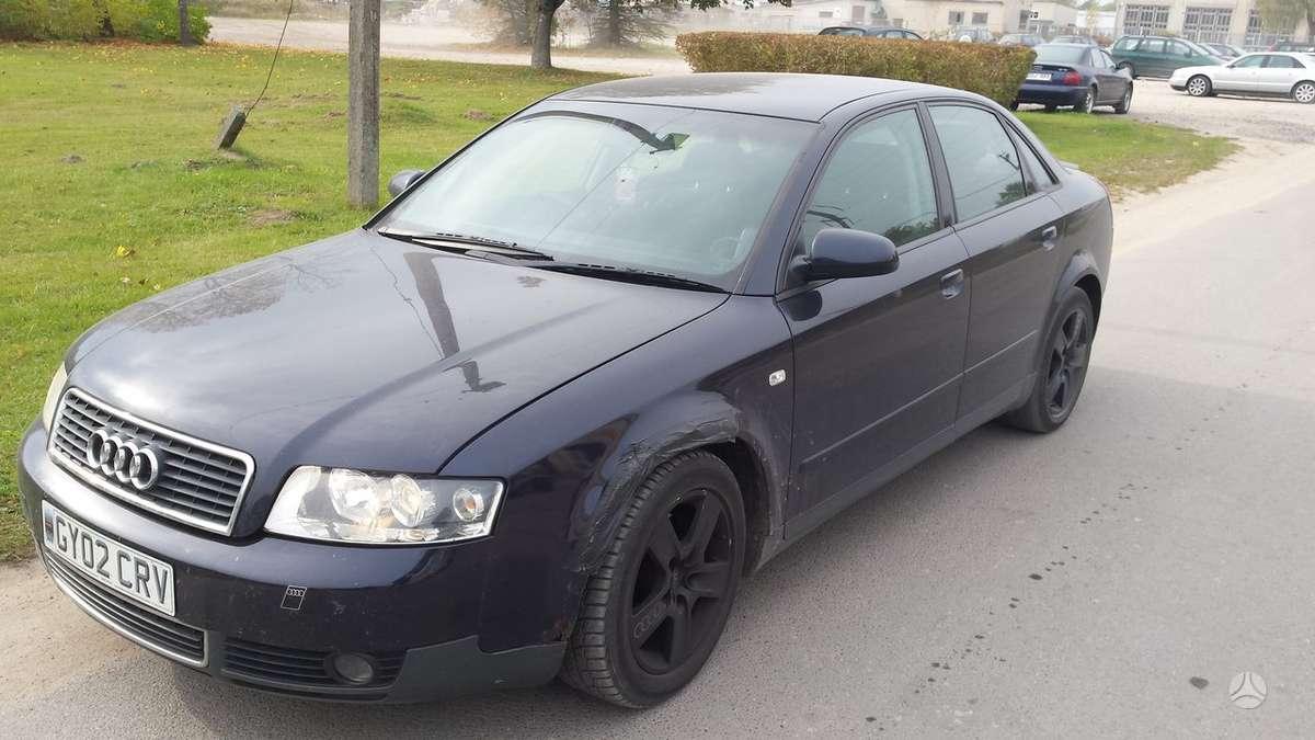 Audi A4. Audi a4 b6 02m. 1.8turbo,,dalimis,,grazhus ratlankiai...