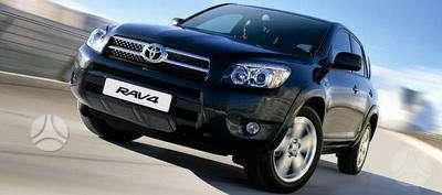 Toyota RAV4. Naudotos ir naujos japoniškų ir korėjietiškų a/m kė