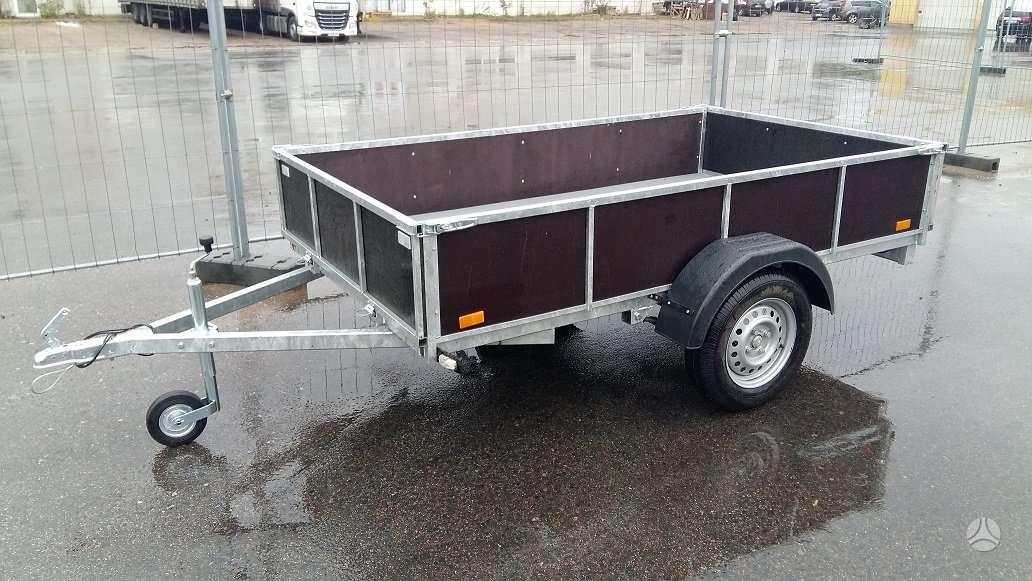 Baltic trailer B2K2500, lengvųjų automobilių priekabos