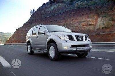 Nissan Pathfinder. Naudotos ir naujos japoniškų ir korėjietiškų