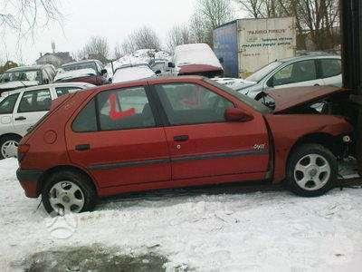 Peugeot 306 dalimis. Iš prancūzijos. esant galimybei,