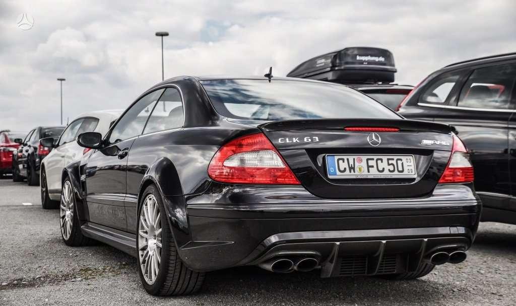 Mercedes-Benz CLK63 AMG dalimis. !!!! naujos originalios dalys !!