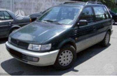 Mitsubishi Space Wagon. Yra dar 1993m. 2.0l benzinas