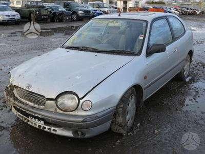 Toyota Corolla. Corola 1.6 ltr is anglijos dalimis 2 dureliu hbk