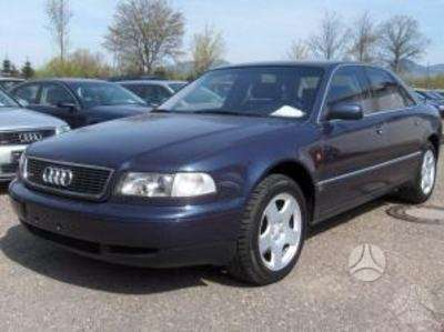 Audi A8. Europine 4,2l qauttro, navigacija, cd changer, odinis