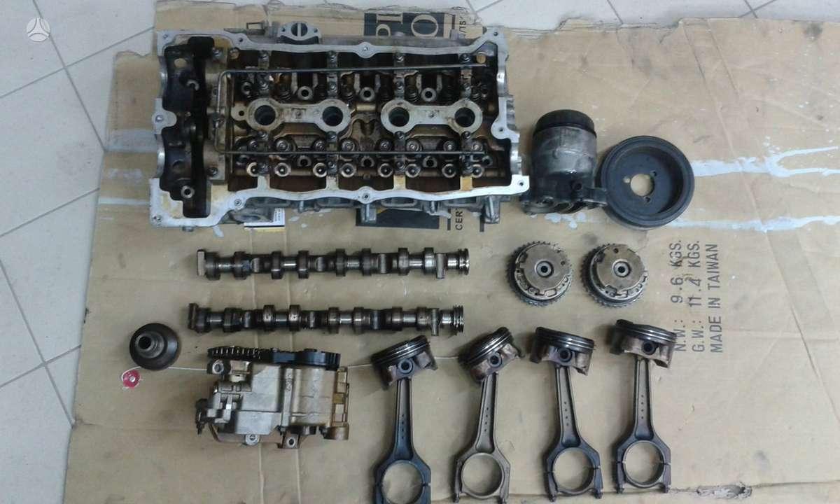 BMW 116. Yra tik variklis dalimis (tik tai, kas matosi