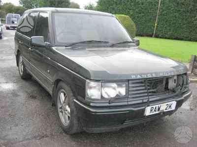 Land Rover Range Rover. Vairas dešinėje  darbo laikas: i-v 9: