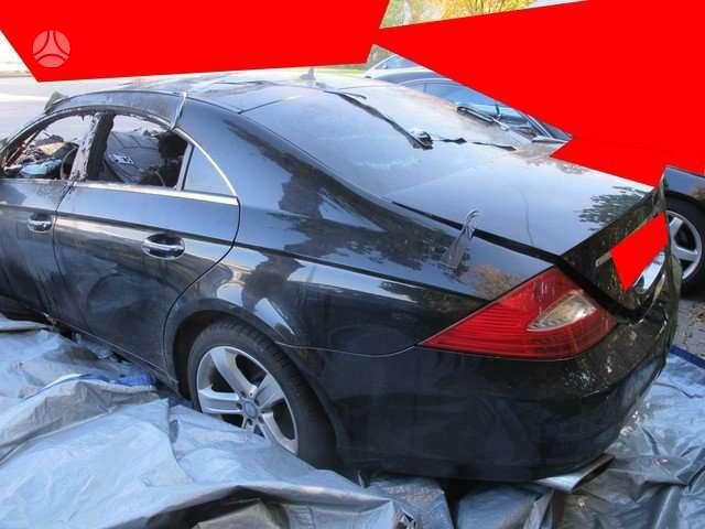 Mercedes-Benz CLS550. Is vokietijos