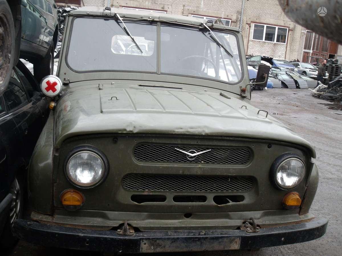 UAZ 469. Dalimis