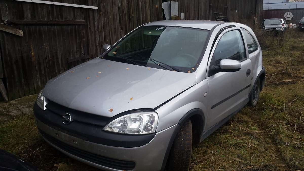 Opel Corsa. Opel corsa c 02m. 1.7d, , dalimis, , kainos