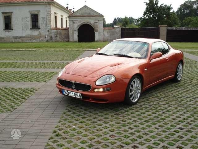 Maserati 3200 GT. Pristatome automobilių dalis į namus visoje