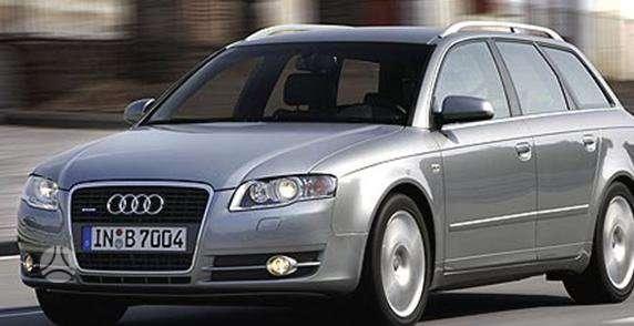 Audi A4 dalimis. Pigios kėbulo dalys, žibintai, radiatoriai