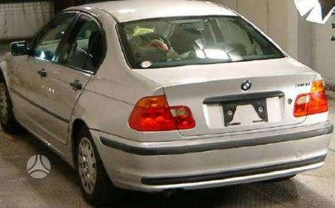 BMW 3 serija dalimis. Pigios kėbulo dalys, žibintai, radiatoriai.