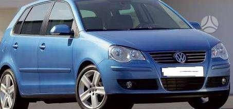 Volkswagen Polo dalimis. Pigios kėbulo dalys, žibintai,