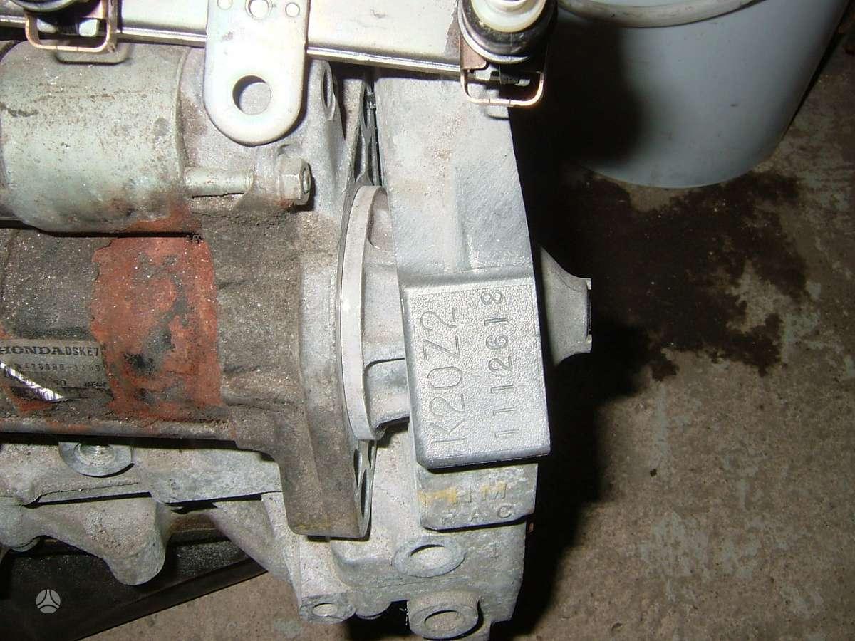 Honda Accord. Honda variklis k20z2