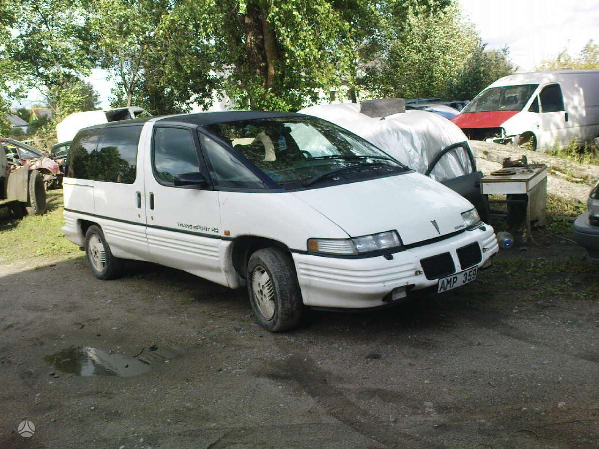 Pontiac Trans Sport dalimis. Iš švedijos. esant galimybei,