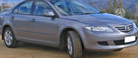 Mazda 6 dalimis. Pigios kėbulo dalys, žibintai, radiatoriai.