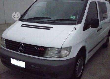 Mercedes-Benz Vito dalimis. Pigios kėbulo dalys, žibintai,