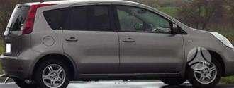 Nissan Note dalimis. Pigios kėbulo dalys, žibintai, radiatoriai.