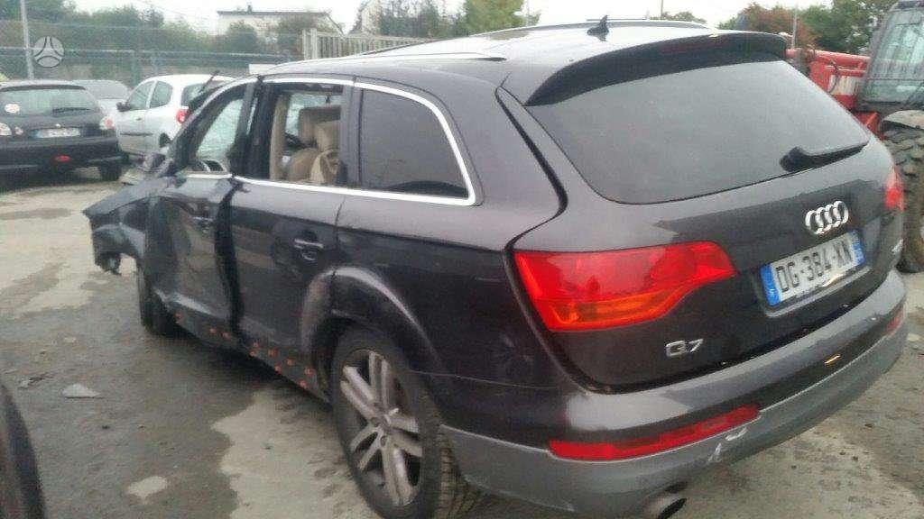 Audi Q7. Detalių pristatymas i visus lietuvos miestus, baltijos š