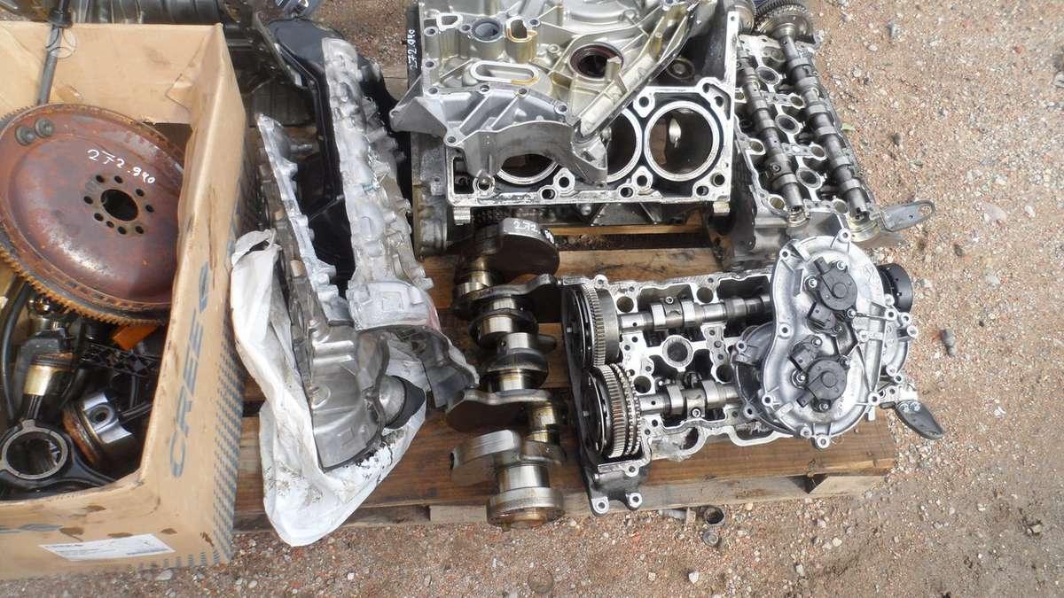 Mercedes-Benz C klasė. Tik variklis dalimis variklio kodas 272.