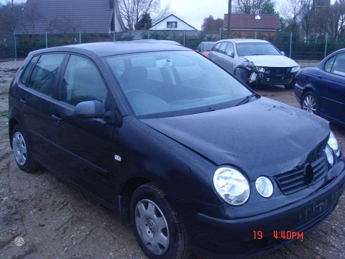 Volkswagen Polo. Naudotos automobilių dalys. kretingos r., jokū
