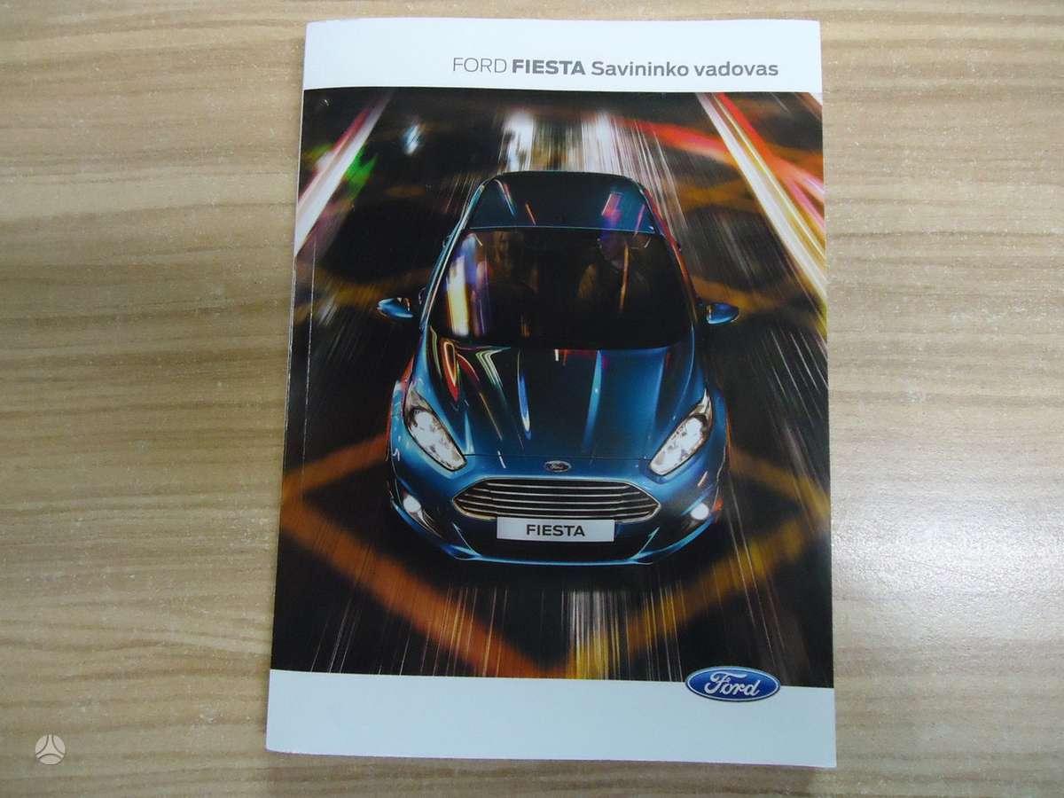 Ford Fiesta. Automobilio aprašymo knygelės- lietuviškai