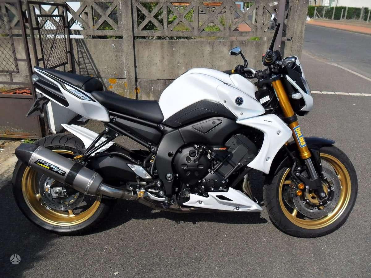 Yamaha FZ8, street / klasikiniai