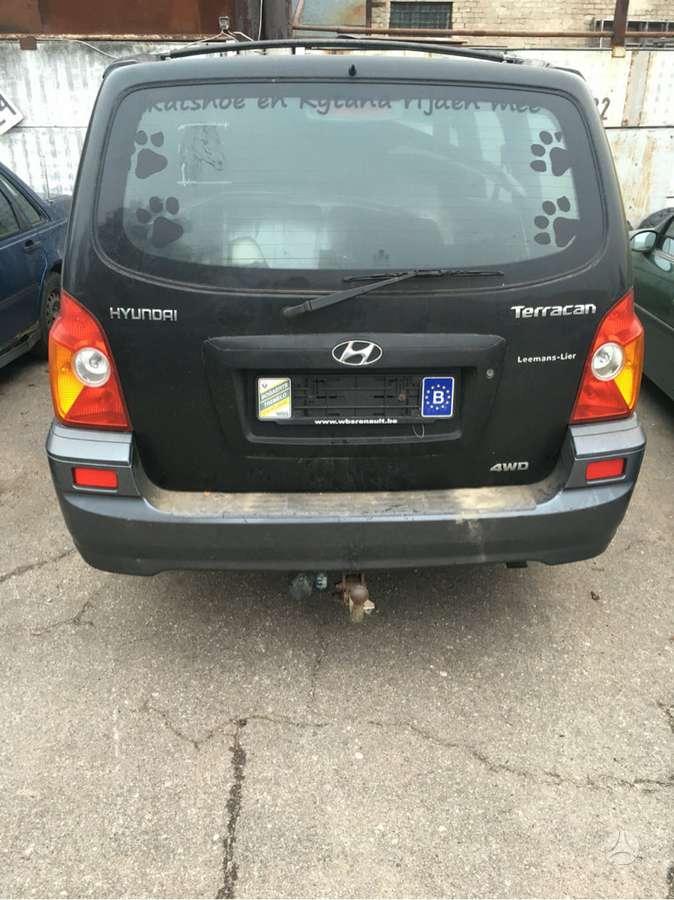 Hyundai Terracan dalimis