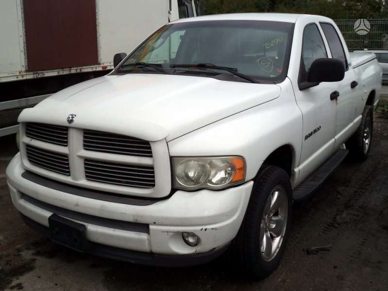 Dodge Ram dalimis. 4x4