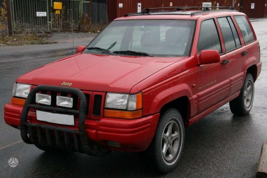 Jeep Grand Cherokee dalimis. Uued ja kasutatud varuosad ameerika