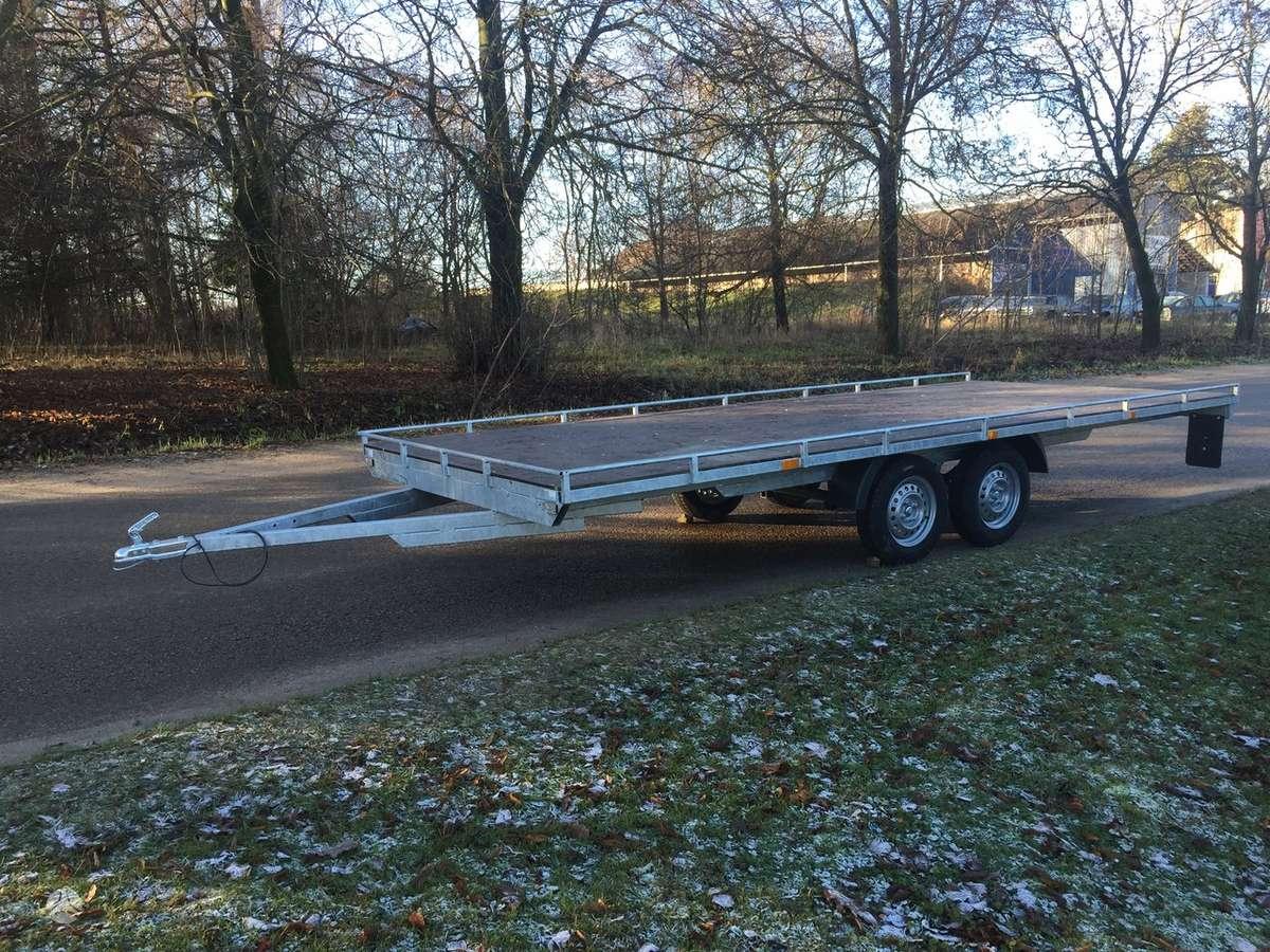 Baltic trailer B2P-5000x2U, lengvųjų automobilių priekabos