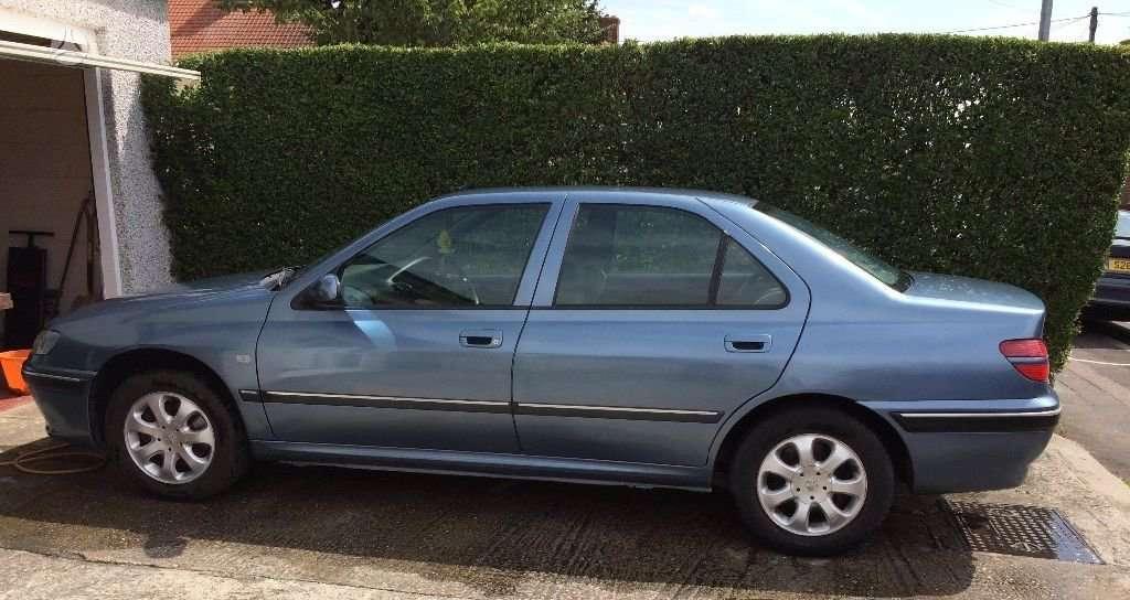 Peugeot 406. Anglas dalymis automatas