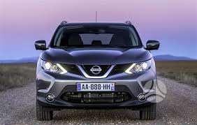 Nissan Qashqai apdailos detalės