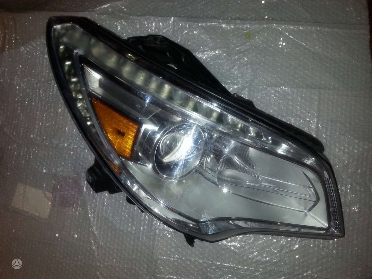 Buick Enclave. Buick enclave right xenon led headlight afs 2013-