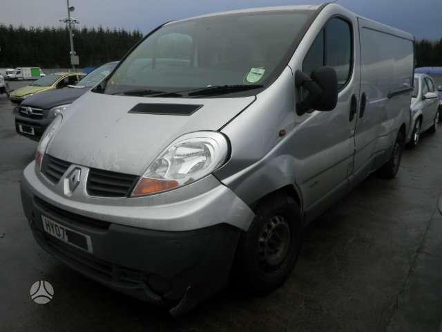 Renault Trafic 2.0DCI, krovininiai mikroautobusai