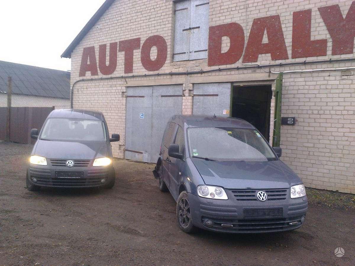 Volkswagen Caddy dalimis. Bjb,bsu,bls,bmm,bse,cay auto dalys