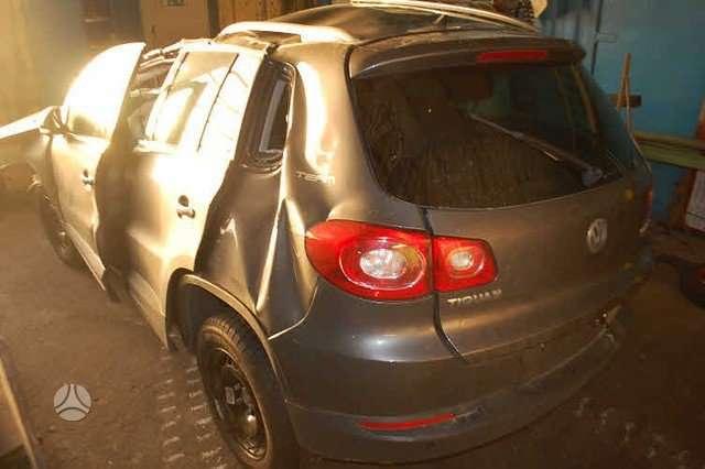 Volkswagen Tiguan. Is vokietijos