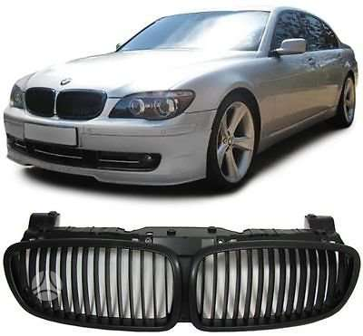 BMW 7 serija. naujos tuning dalys. priekines groteles bmw e65-