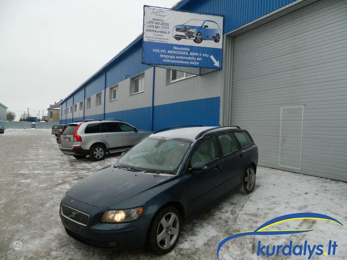 Volvo V50. Turime ir daug kitų automobilių dalimis. volvo v50 2,