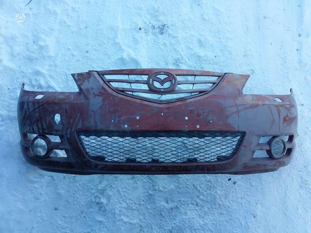 Mazda 3 bamperiai, žibintai, apdailos grotelės