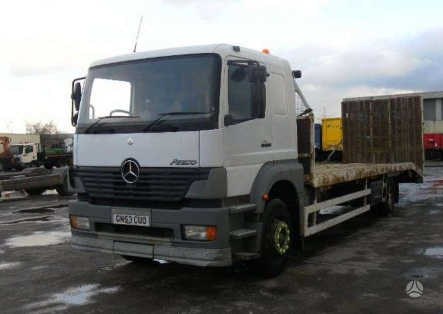 Mercedes-Benz 1823 L OM 906 LA (906.925) G85, sunkvežimiai