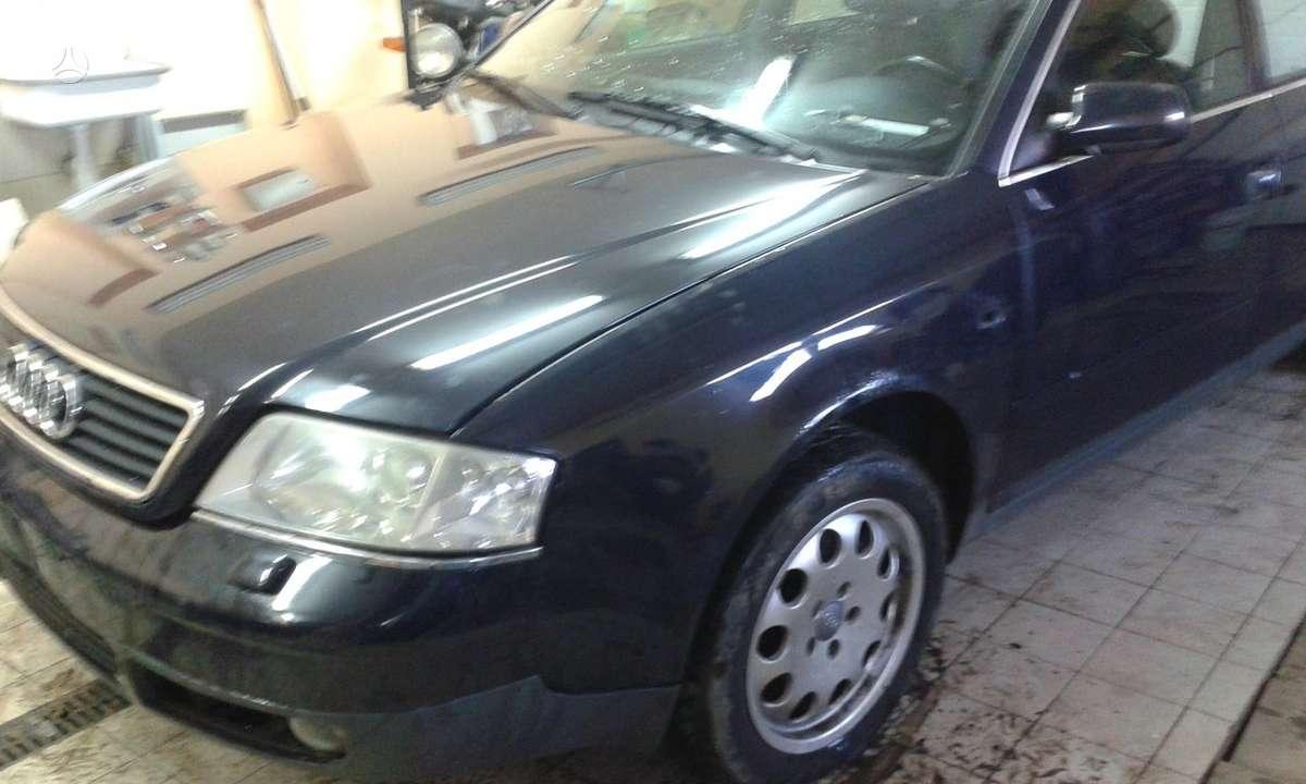 Audi A6. Iš vokietijos. xenon, šildomos sėdynės. pavarų dėžės
