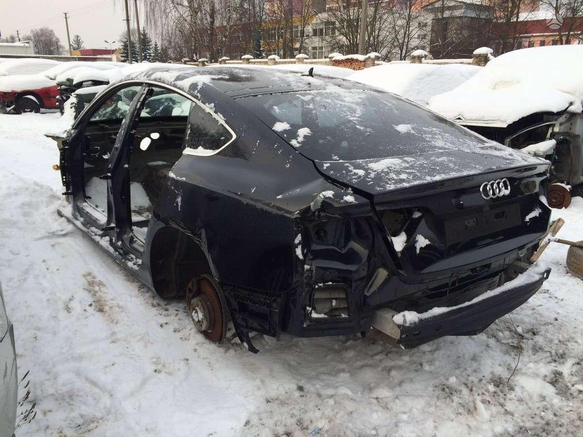 Audi A5 SPORTBACK. Tik kas matosi foto  naudotos automobiliu
