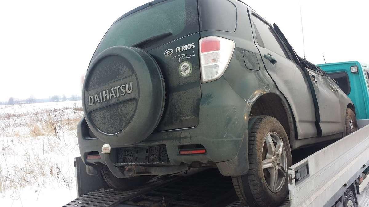 Daihatsu Terios. Is vokietijos