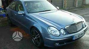 Mercedes-Benz E200. Kompresor superkame automobilius su