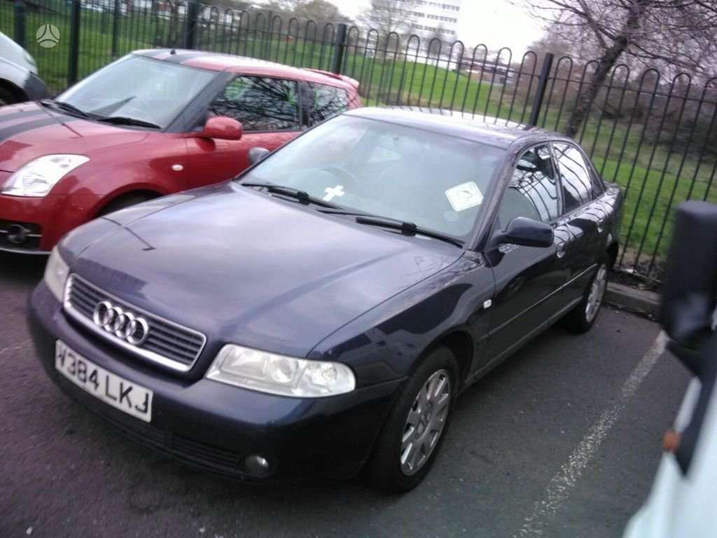 Audi A4 dalimis. Yra 66 kw ir 81 kw
